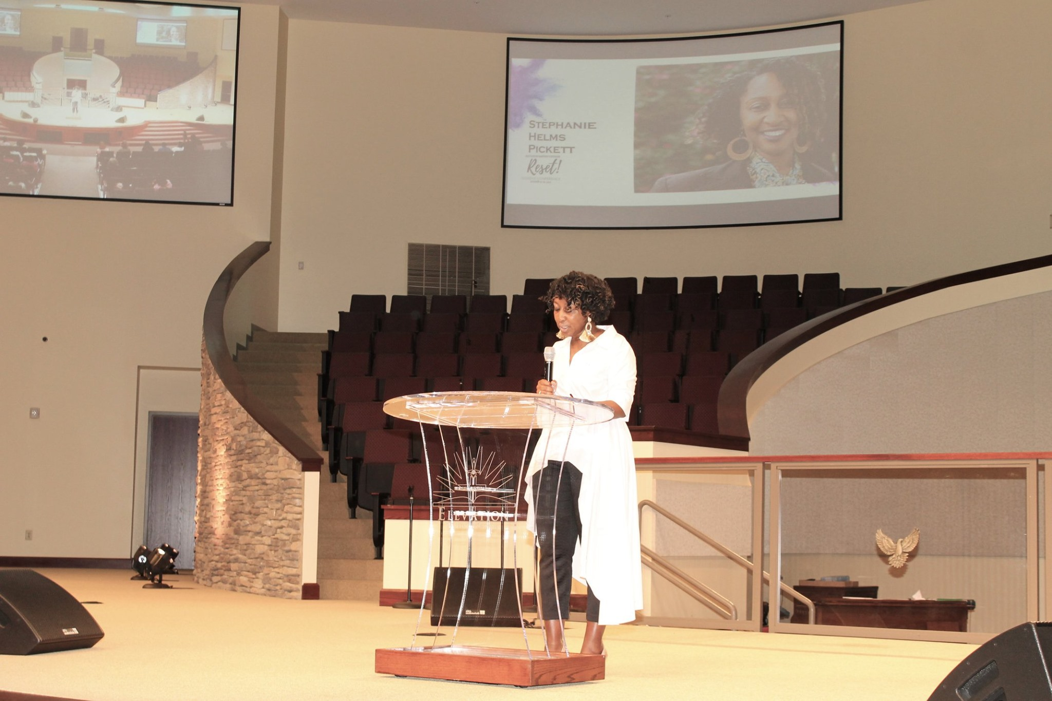 Stephanie Helms Pickett Speaking at a Women's Conference in North Carolina