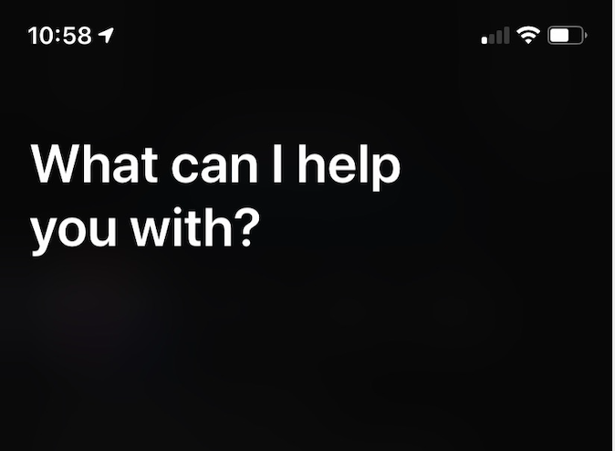 The Siri God